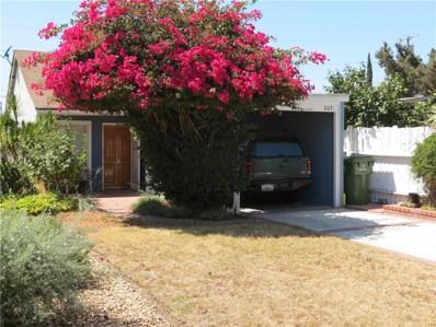 6031 Fulcher Avenue, North Hollywood, CA 91606 - MLS#: SR17200750