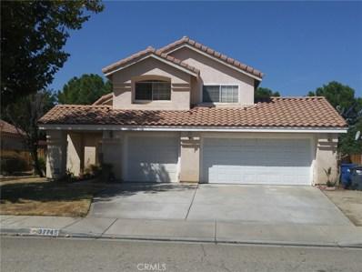 37745 Wisteria Trail, Palmdale, CA 93552 - MLS#: SR17205138