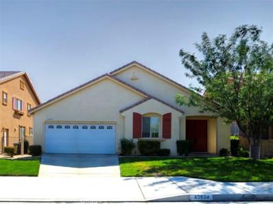 43934 Firewood Way, Lancaster, CA 93536 - MLS#: SR17208741