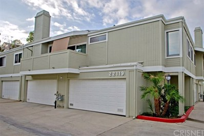 22119 Burbank Boulevard UNIT 7, Woodland Hills, CA 91367 - MLS#: SR17214594