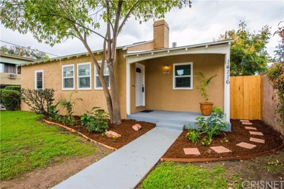 14116 Califa Street, Sherman Oaks, CA 91401 - MLS#: SR17216673