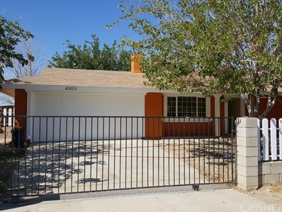 40653 162nd Street E, Lancaster, CA 93535 - MLS#: SR17224837