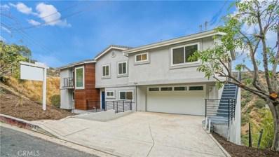 1664 Gladys Drive, Glendale, CA 91206 - MLS#: SR17229338
