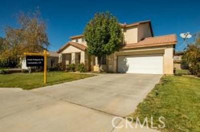2035 Holguin Street, Lancaster, CA 93536 - MLS#: SR17246108