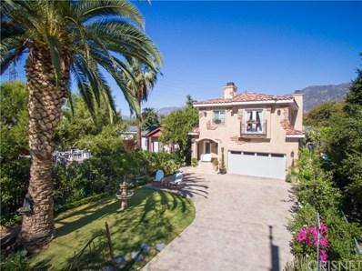3133 La Tierra Street, Pasadena, CA 91107 - MLS#: SR17250897