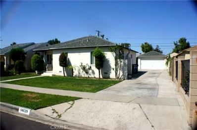 14639 Harvest Avenue, Norwalk, CA 90650 - MLS#: SR17254460