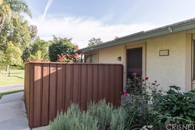 2289 Moss Court, Thousand Oaks, CA 91362 - MLS#: SR17255511