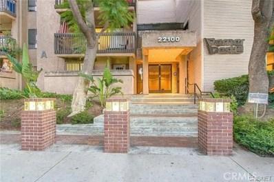 22100 Burbank Boulevard UNIT 343, Woodland Hills, CA 91367 - MLS#: SR17256171