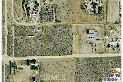 0 W. Jessica Avenue, Mojave, CA  - MLS#: SR17263361