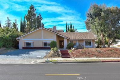 12533 Nugent Drive, Granada Hills, CA 91344 - MLS#: SR17271805