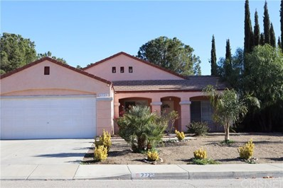 2725 Redington Street, Palmdale, CA 93551 - MLS#: SR17277844