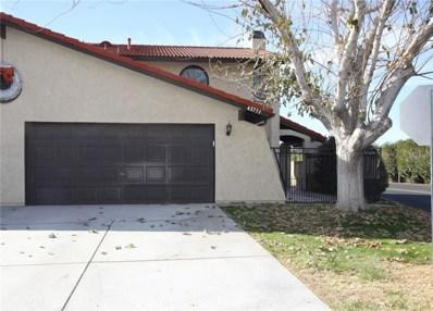 43751 Frieda Court, Lancaster, CA 93535 - MLS#: SR17280630