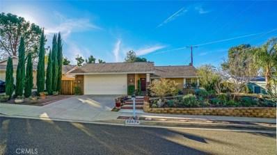 22674 Matana Drive, Saugus, CA 91350 - MLS#: SR18000882