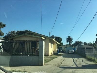 1636 E 109th Street, Los Angeles, CA 90059 - MLS#: SR18001482