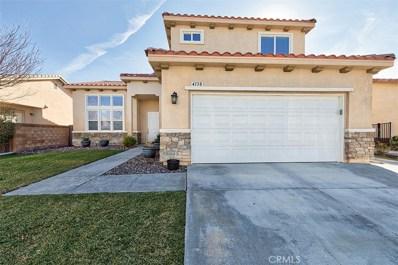 4138 Vahan Court, Lancaster, CA 93536 - MLS#: SR18006462