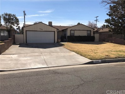 1340 W Kildare Street, Lancaster, CA 93534 - MLS#: SR18009431