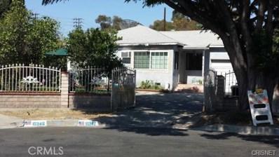 10342 Vena Avenue, Arleta, CA 91331 - MLS#: SR18010881