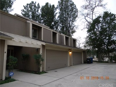 18153 Andrea Circle UNIT 2, Northridge, CA 91325 - MLS#: SR18011337