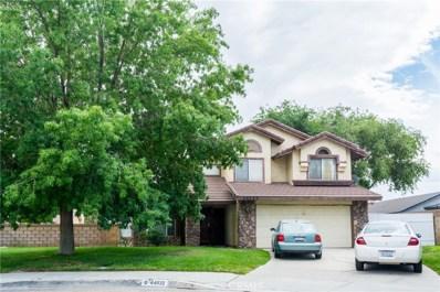44032 Colony Drive, Lancaster, CA 93536 - MLS#: SR18011429