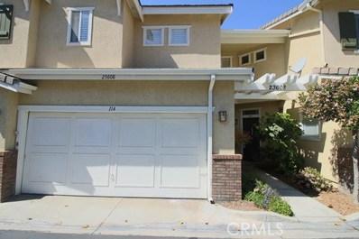 23608 Big Sky UNIT 114, Valencia, CA 91354 - MLS#: SR18018652