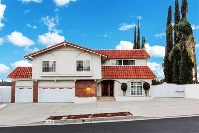 17356 Westbury Drive, Granada Hills, CA 91344 - MLS#: SR18019323