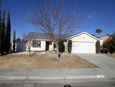 3741 Scherer Drive, Rosamond, CA 93560 - MLS#: SR18021349