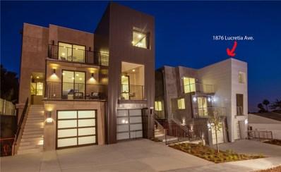 1876 N Lucretia Avenue, Los Angeles, CA 90026 - MLS#: SR18025837
