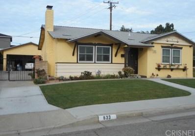 833 N Adobe Avenue, Montebello, CA 90640 - MLS#: SR18028165