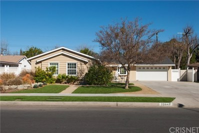 22847 Strathern Street, West Hills, CA 91304 - MLS#: SR18030021