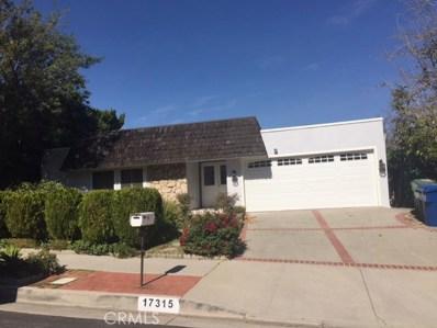17315 Cagney Street, Granada Hills, CA 91344 - MLS#: SR18033174