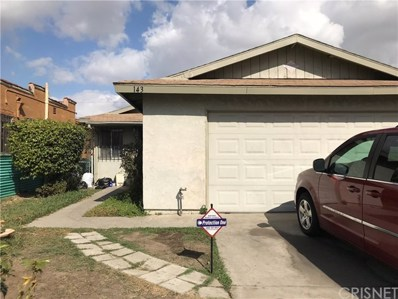 143 E Colden Avenue, Los Angeles, CA 90003 - MLS#: SR18036373