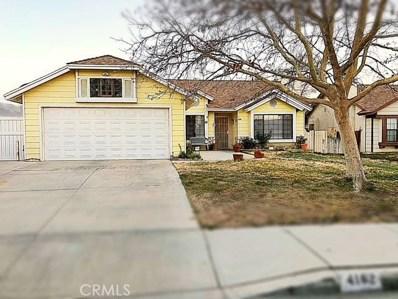 4162 E Avenue Q14, Palmdale, CA 93552 - MLS#: SR18038513