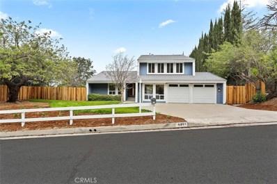 4301 Cezanne Avenue, Woodland Hills, CA 91364 - MLS#: SR18042955