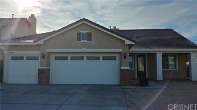 43321 Hampton Street, Lancaster, CA 93536 - MLS#: SR18053278