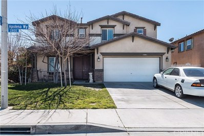 2908 Apolena Way, Palmdale, CA 93550 - MLS#: SR18057801