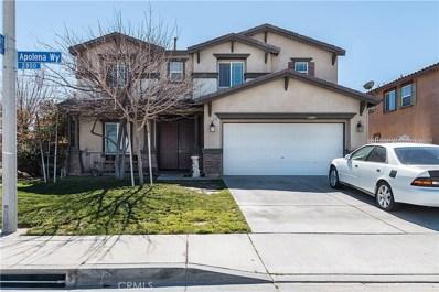 2908 Apolena Way, Palmdale, CA 93550 - MLS#: SR18057801
