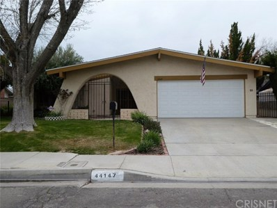 44147 Soft Avenue, Lancaster, CA 93536 - MLS#: SR18064991