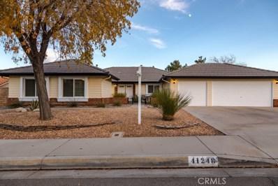 41248 Crispi Lane, Palmdale, CA 93551 - MLS#: SR18081254