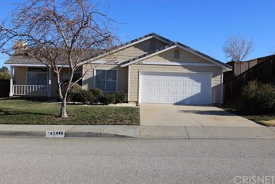 42446 Plains Drive, Lancaster, CA 93536 - MLS#: SR18083805