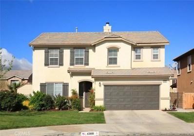 43881 44th Street W, Lancaster, CA 93536 - MLS#: SR18085584