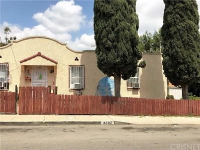 4887 Hillsdale Drive, El Sereno, CA 90032 - MLS#: SR18086865