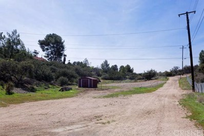 32410 Barber Road, Agua Dulce, CA 91390 - MLS#: SR18087766