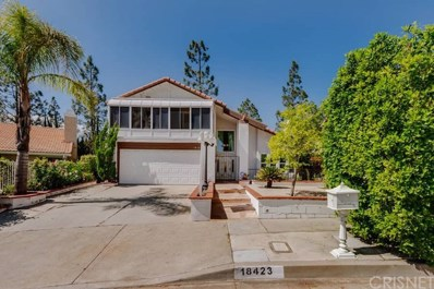 18423 Tuba Street, Northridge, CA 91325 - MLS#: SR18089943