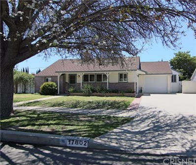 17602 Blythe Street, Northridge, CA 91325 - MLS#: SR18093701