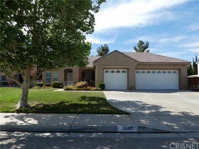 39915 Penina Way, Palmdale, CA 93551 - MLS#: SR18096675
