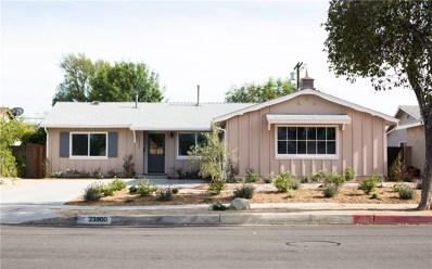 23900 Mobile Street, West Hills, CA 91307 - MLS#: SR18096777