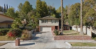 22107 Barbacoa Drive, Saugus, CA 91350 - MLS#: SR18102745