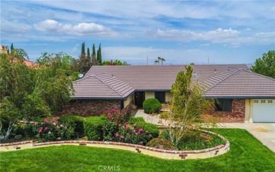 6305 Bella Kath Terrace, Palmdale, CA 93551 - MLS#: SR18104419
