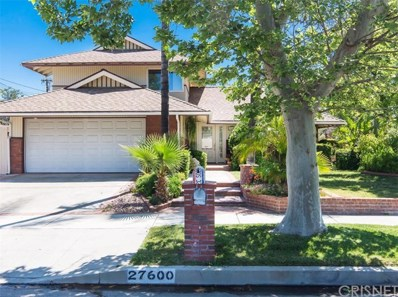 27600 Glasser Avenue, Canyon Country, CA 91351 - MLS#: SR18106180