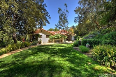 3665 Woodhill Canyon Road, Studio City, CA 91604 - MLS#: SR18112938